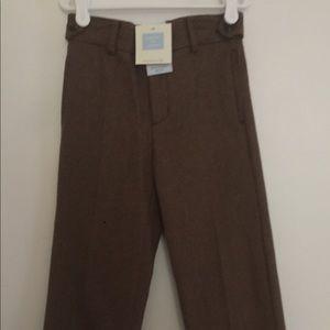 Boys wool dress pants